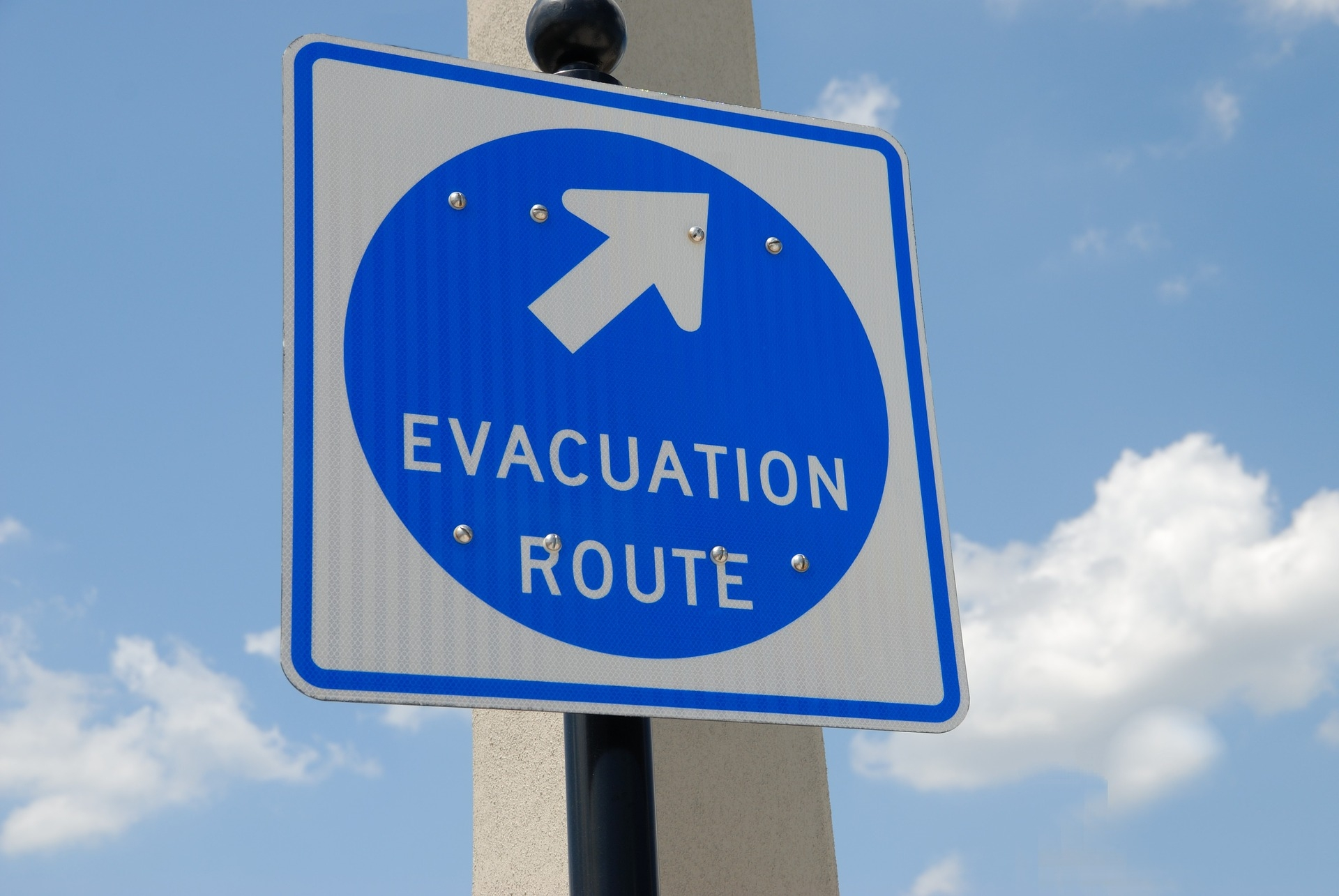 Evakuierungsübungen